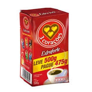 Café Três Corações L500P475g  Extra Forte
