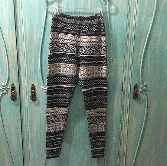 Calça de lã Schmidt tricot - Tam 40