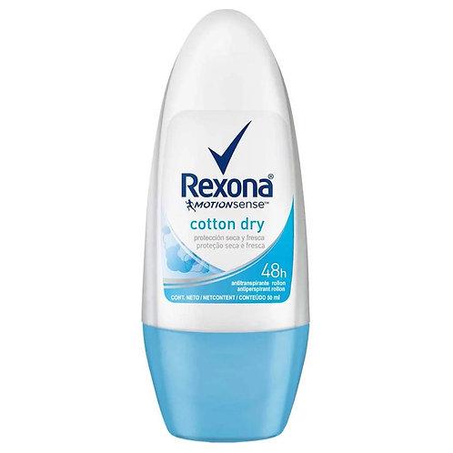 Desodorante Rolon Rexona 50ml  Women Cotton
