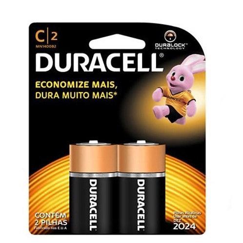 Pilha Duracell C2