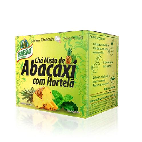 Chá Barão 13g Verde C/Abacaxi Hortela