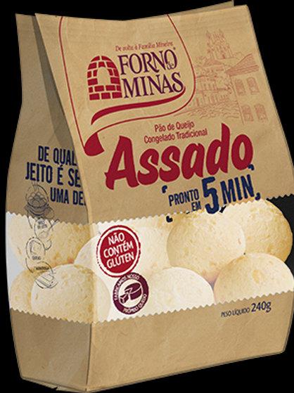 Pão de Queijo Assado Forno Minas 240g