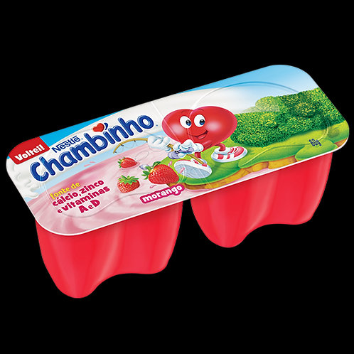 Queijo Petit Suisse Nestle 80g Chambinho Morango