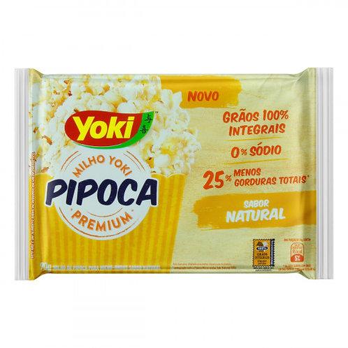 Milho Pipoca Micro Yoki 90g  Natural
