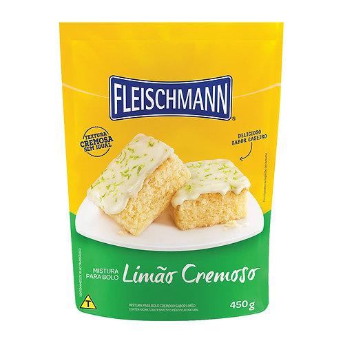 Mistura para Bolo Fleischmann 450g  Limão