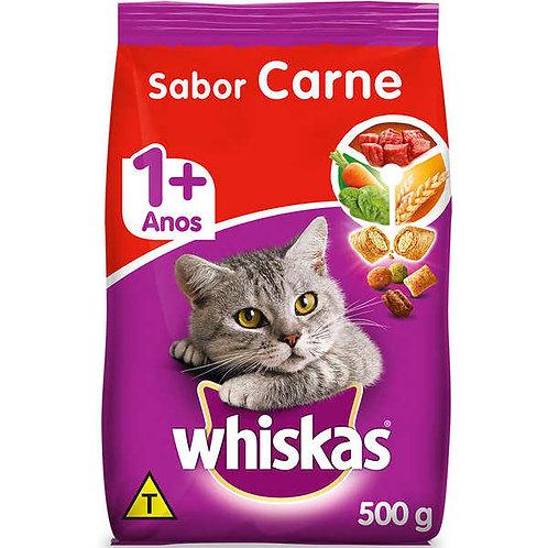 Ração Gatos Whiskas 500g  Carne