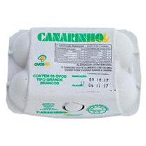 Ovos Granja Canarinho 6Un
