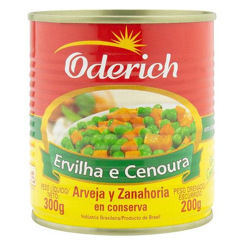 Ervilha e Cenoura Oderich 200g