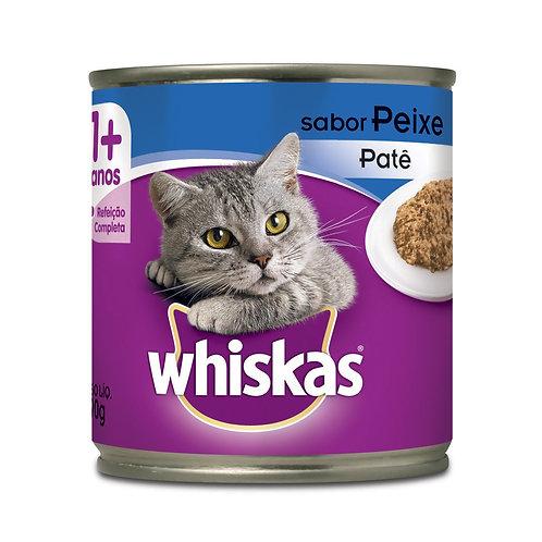 Ração Gatos Whiskas Lata 290g Peixe