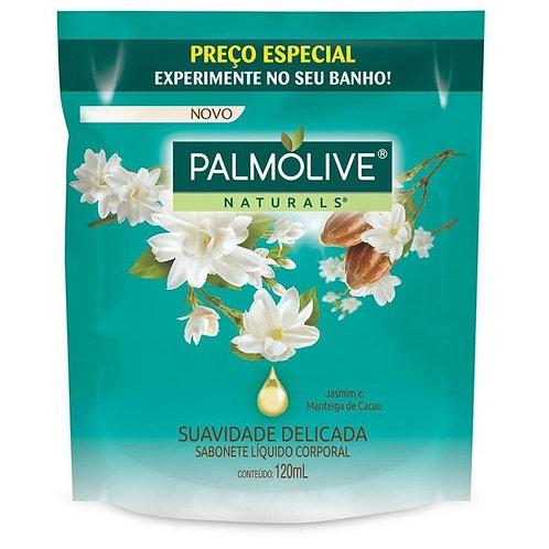 Sabonete Líquido Palmolive Naturals 120ml  Suavidade Delicada