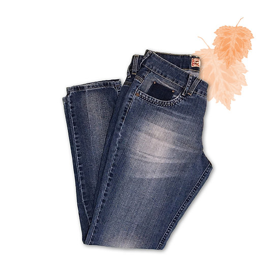 Calça Jeans Boyfriend Damyller - Tam 40