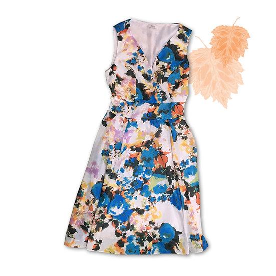 Vestido Floral Bonprix