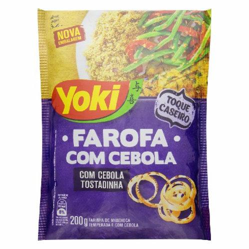 Farofa Yoki 250g 200g C/Cebola