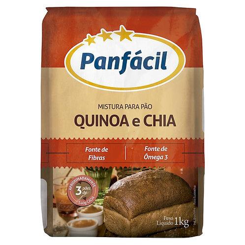 Farinha Trigo Panfacil 1Kg Quinoa E Chia