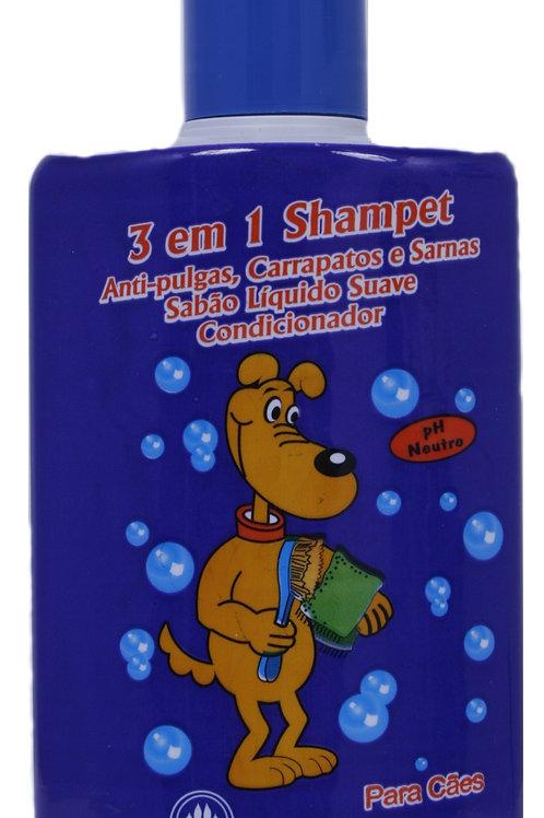 Shampoo Cães Shampooampet  3 Em 1