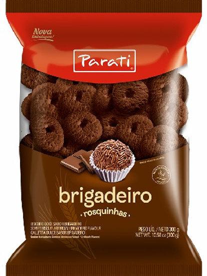 Biscoito Rosquinhas Parati 300g/335g  Brigadeiro
