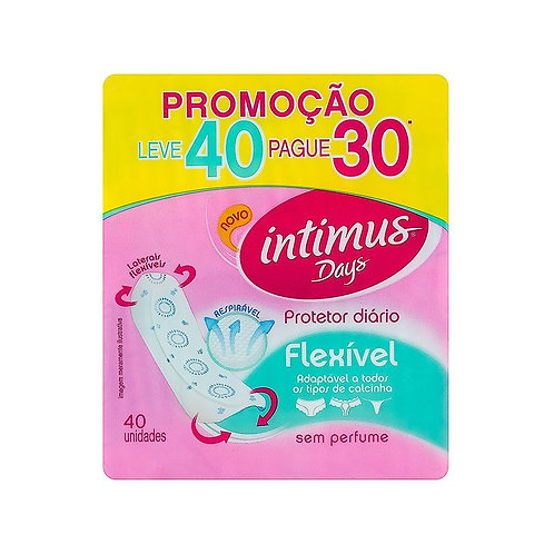 Absorvente Intimus Days Lv40 Pg30 Flexível