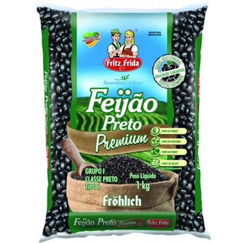 Feijão Frida 1Kg Preto T1