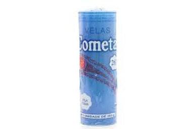 Vela 7 Dias Cometa 1 Cores 265g  Azul