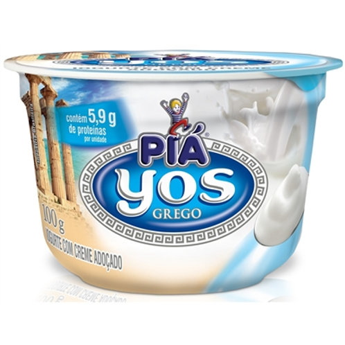 Iogurte Piá Yos Grego 100g  Adocado