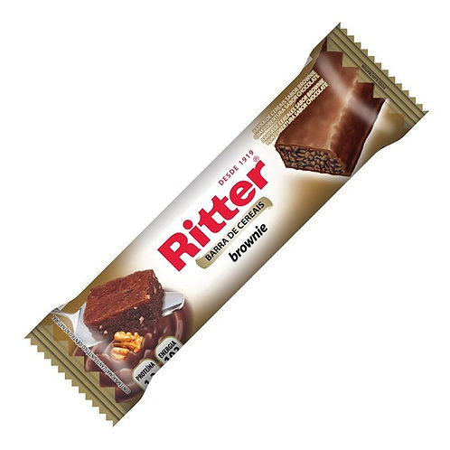 Barra Cereal Ritter 25g  Brownie