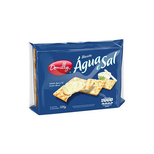 Biscoito Domelly Agua&Sal 720G