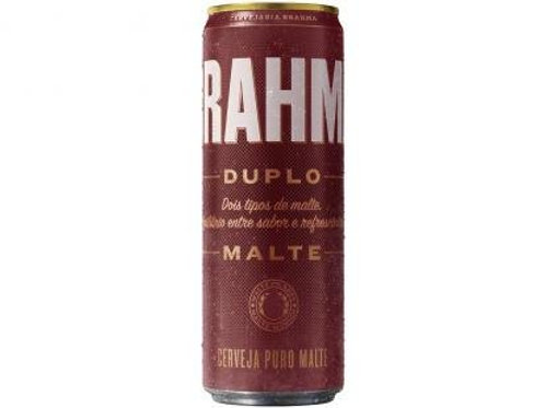 Cerveja Brahma 350ml Duplo Malte