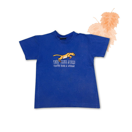 Camiseta Azul Infantil - Tam 6