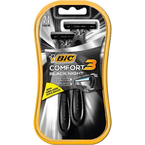 Aparelho de Barbear Bic Comfort 3 2Un  Black