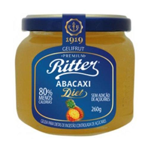 Geléia Ritter Diet 260g  Abacaxi