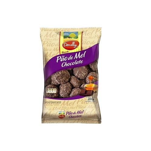 Biscoito Domelly Pao/Mel Choc 350G