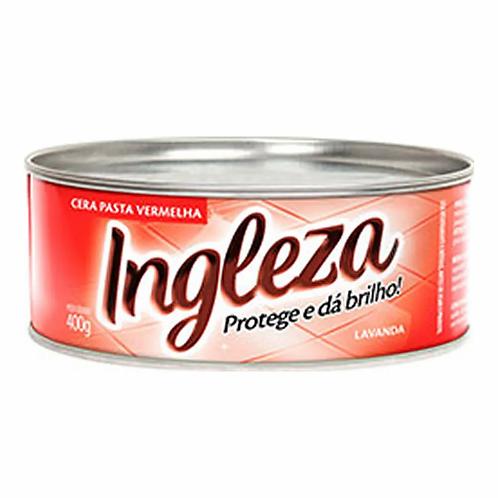 Cera Pasta Ingleza 400g  Vermelha