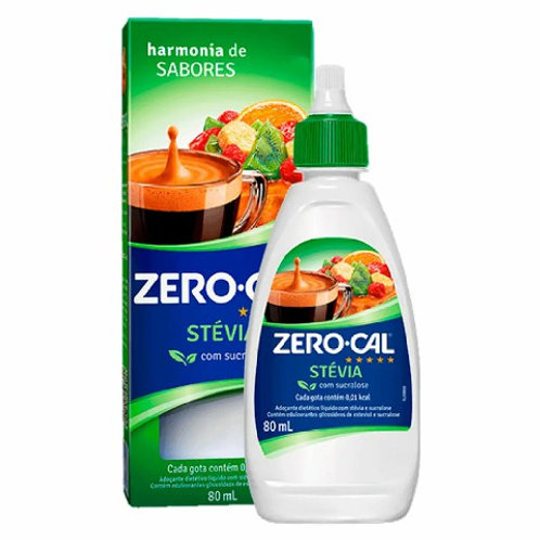 Adoçante Zero Cal 80ml Stevia
