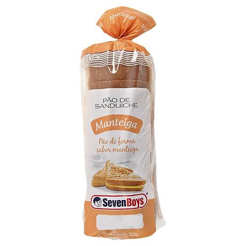 Pão Sanduiche Seven Boys 450g  Manteiga