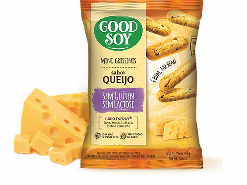 Mini Grissini Good Soy 30g  Queijo