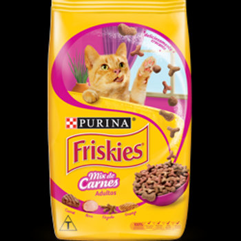Ração Gatos Friskies 1Kg  Mix Carne