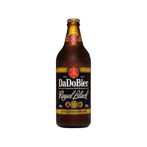 Cerveja Dado Bier Royal Black 600ml