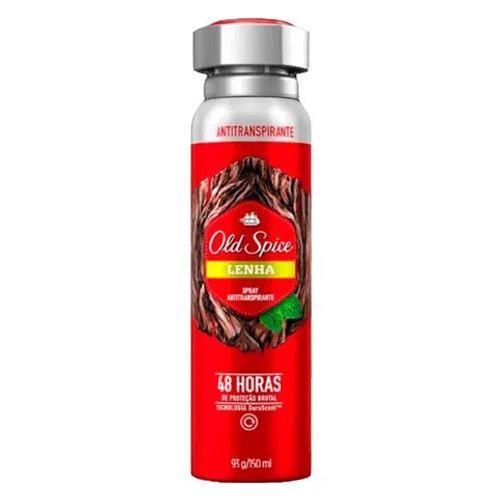 Antitranspirante Aerosol Old Spice 150ml  Lenha
