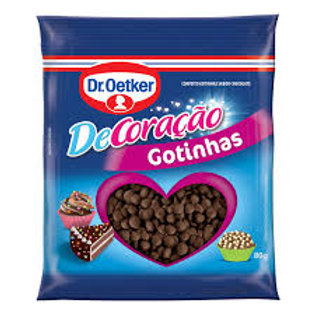 Confeito Oetker 80g Gotinhas Chocolate