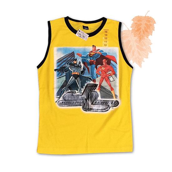 Camiseta Regata Liga da Justiça - Tam 10