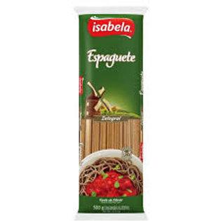 Massa Integral Isabela 500g  Espaguete