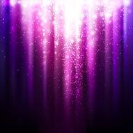 Glowing Curtain