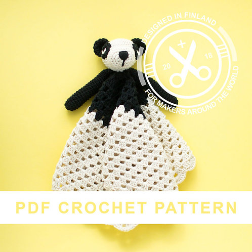 ELVIS | Crochet panda PDF pattern