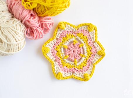 Stella Coaster Mandala Make Along (MAL)