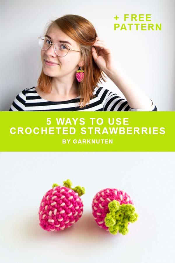 crochet strawberry free pattern