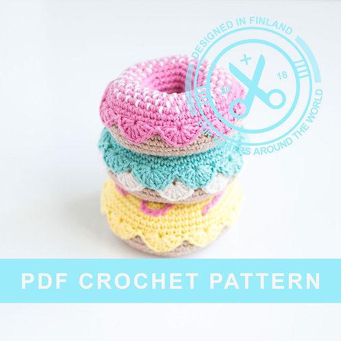 DONUTS | Crochet PDF pattern