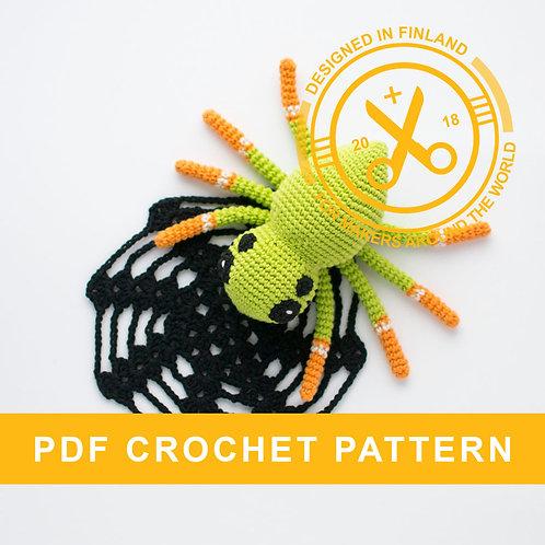 NELLI | Crochet spider PDF pattern
