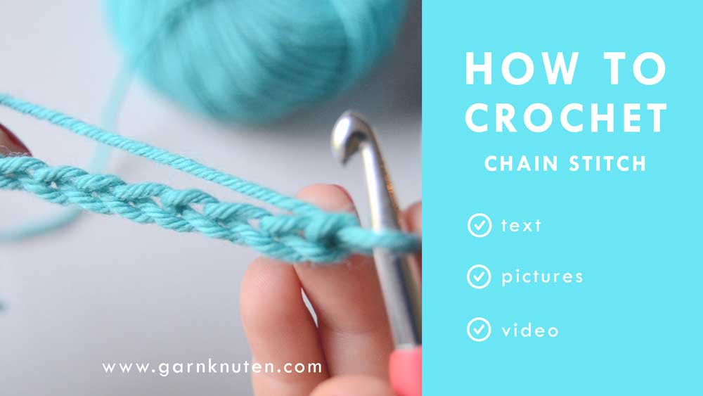 how to crochet chain stitch beginner