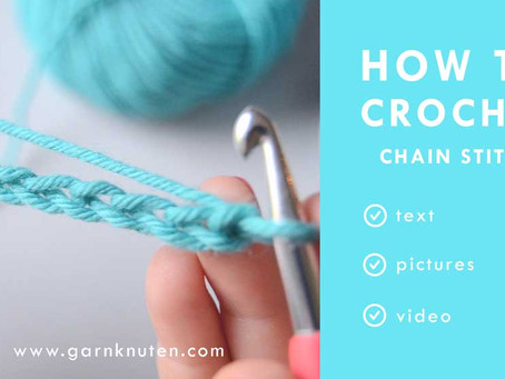 HOW TO CROCHET - Chain stitch for beginners