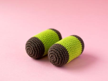 PUNSCH ROLL | DAMSUGARE | free crochet pattern | gratis virkmönster
